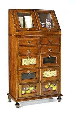Dispensation Cooker Arte povera Mobile Walnut Wood Super Offer