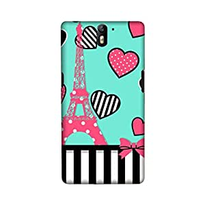 OnePlus One Perfect fit Matte finishing Love Illustration Mobile Backcover designed by Aaranis(Multicolor)