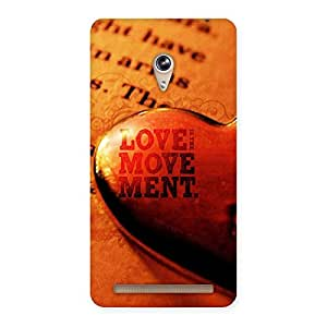 Gorgeous Love Movement Back Case Cover for Zenfone 6
