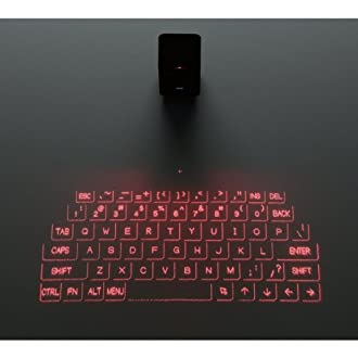 ELECOM 投映型Bluetoothプロジェクションキーボード iPhone/iPad/iPod touch対応 ブラック TK-PBL042BK