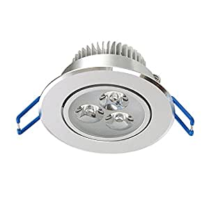 white led ceiling light recessed cabinet lighting fixture with led
