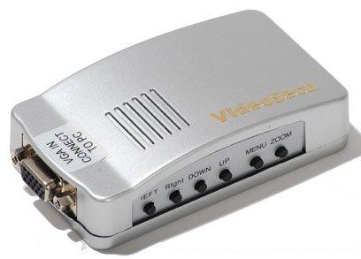 Videosecu PC to TV Converter VGA to RCA S-Video Mac Computer Laptop to Composite Video Switcher VGA2TV 1L7