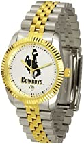 Wyoming Cowboys Suntime Mens Executive Watch - NCAA College Athletics