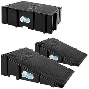 LandWave LWSPB Starter Pack Set Of 2 Ramps And 1 Deck) by Landwave