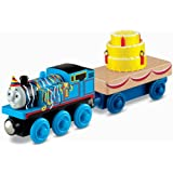 Fisher-Price Thomas the Train Wooden Railway Happy Birthday