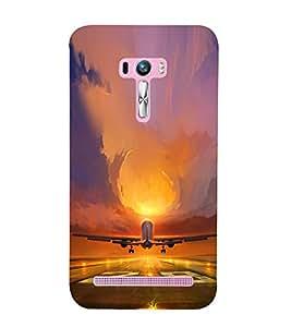 ifasho Designer Phone Back Case Cover Asus Zenfone Selfie ZD551KL ( Music Girl Women Piano )