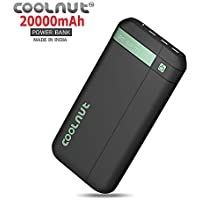 COOLNUT® Ultra High Capacity Best Power Bank for Mobile 20000mAh-Mobile Battery