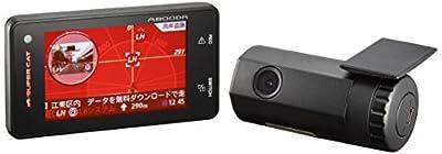 ユピテル(Yupiteru) 小型オービス対応 ドライブレコーダー連動 レーダー探知機 A800DR 安全運転支援機能付