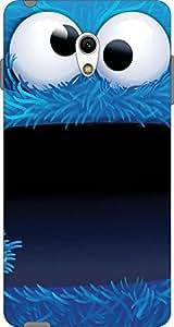 Cliche Printed Back Cover For Micromax Canvas Fire 4G Q411