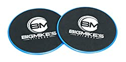 Big Mike's Fitness Gliding Discs - Dual Sided Core Slider - Great Core Trainer