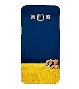 Vizagbeats elephant and calf Back Case Cover for Samsung Galaxy A8::Samsung A8 2015