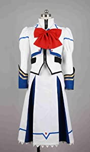 Dream-Coser XXLarge Plus Size Magical Girl Lyrical Nanoha Takamachi Nanoha Cosplay CostumeWS300XXLarge Plus
