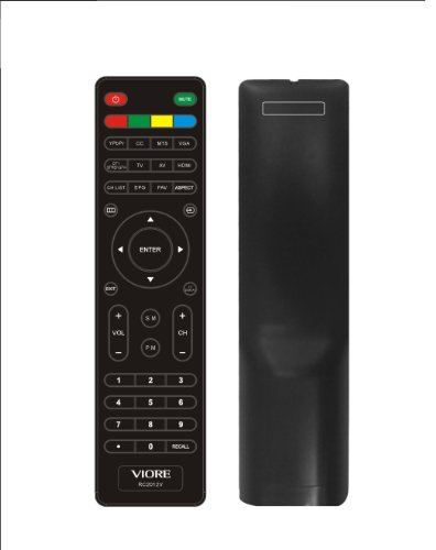New Viore Rc2012V Remote Control For Led19Vh50 Led19Vh50M Led22Vh50 Led22Vf50 Led26Vf50 Tv Remote---Usa Quick Shipping