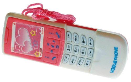 Loisirs Distribution - Téléphone 10 Cm, Son Et Lumière, Coloris Asortis