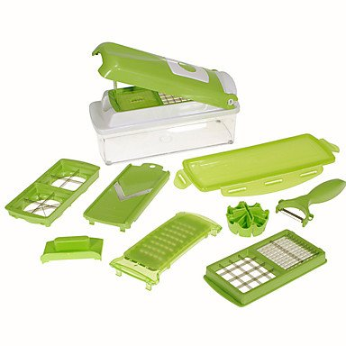 Kitchen boutique convenience and durability Fruit and Vegetable Chopper Nicer Dicer Plus (Buffalo Chopper Knife compare prices)