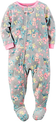carters-baby-girls-1-pc-fleece-grey-floral-18-months