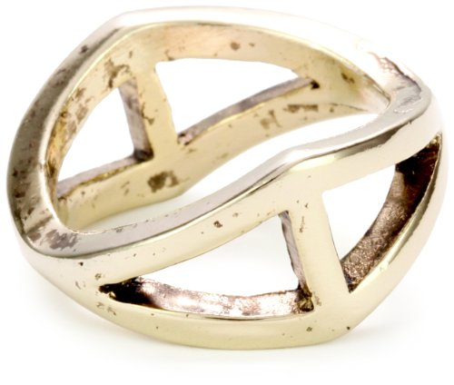 Low Luv by Erin Wasson Gold-Tone Triangle, Ring 6