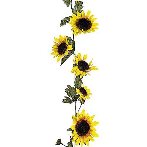 Deko Woerner Sonnenblumen Ranke 180cm Z