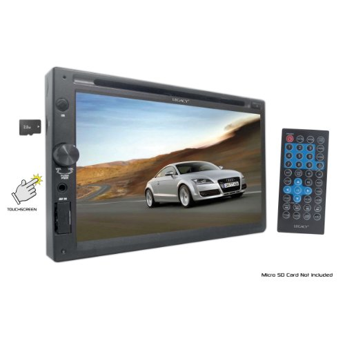 Legacy Ldn27U 7-Inch Tft Double Din Cd/Cdr/Cdrw/Mp3 Compatible With Usb Port And Sd Reader