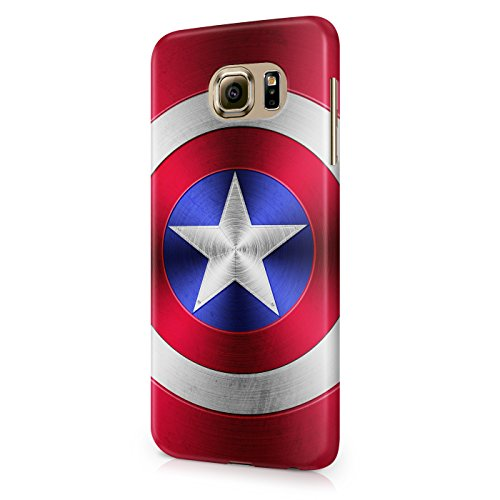 Shield Of Captain America The Avengers Superhero Hard Snap-On Protective Case Cover For Samsung Galaxy S6 (Not Edge)
