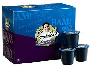 Emeril's Big Easy Bold Coffee, 24-Count K-Cups for Keurig Brewers