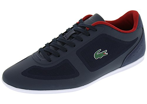 Lacoste Men's Misano Evo 316 1 Spm Fashion Sneaker, Navy, 11 M US
