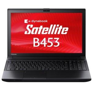 東芝 PB453MNB1R7AA71 dynabook Satellite Windows7Pro Celeron 1005M 4GB 320GB DVDスーパーマルチ 無線LAN Bluetooth 10キー付きキーボード Win8.1Pro updateリカバリメディア付 15.6型液晶ノートパソコン
