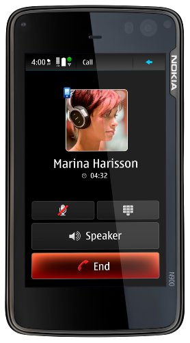 Nokia N900 Unlocked Phone/Mobile Computer with 3.5-Inch Touchscreen, QWERTY, 5 MP Camera, Maemo Browser, 32 GB - U.S. Version with Full Warranty