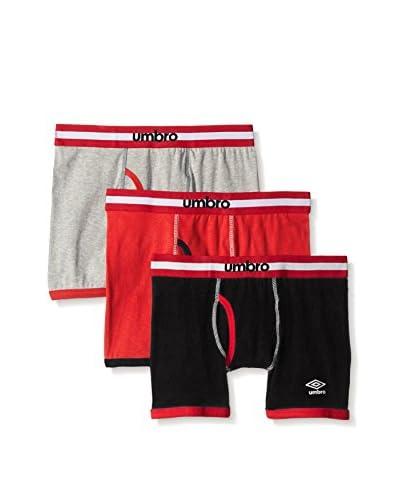 Umbro Men's 3-Pack Boxer Brief (Canada Pack)