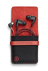 Plantronics BackBeat Go 2 Wireless Hi-Fi Earbud Headphones with Charging Case - Compatible with iPhone, iPad, Android, and Other Leading Smart Devices - Black