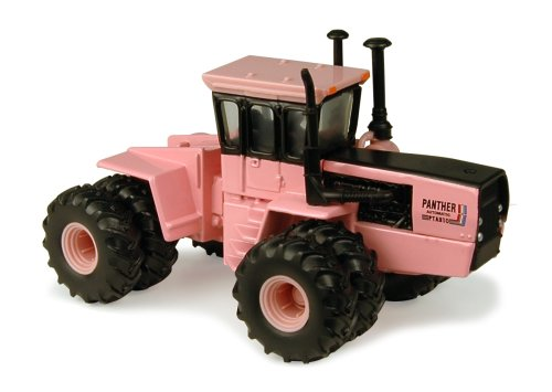 Ertl Steiger Pink Panther Series III Tractor, 1:64 Scale