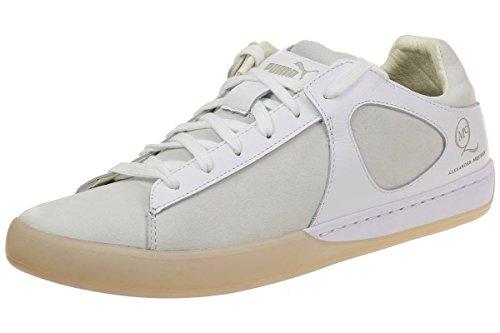 Puma McQ Climb Lo by Alexander McQueen Mens Sneaker white leahter, Numero di scarpe:EUR 43