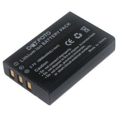 Dot.Foto Qualitätsakku für SilverCrest NP-120 - 3,7v / 1800mAh - Garantie 2 Jahre - 100% kompatibel