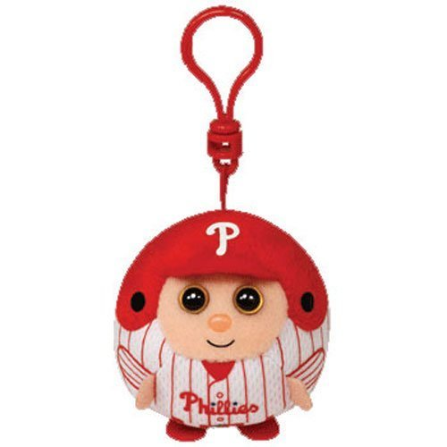 Ty Beanie Ballz MLB Philadelphia Phillies Plush Toy Key Chain (Clip)