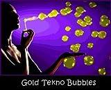 Tekno Bubbles - Gold UV Blacklight Reactive - Half Gallon - 64 Ounces