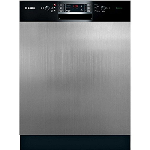 Stainless Steel Look Magnetic Dishwasher Cover - Small - Improvements