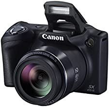 Canon PowerShot SX410 IS 40x Optical Image Stabilized Zoom (Black)