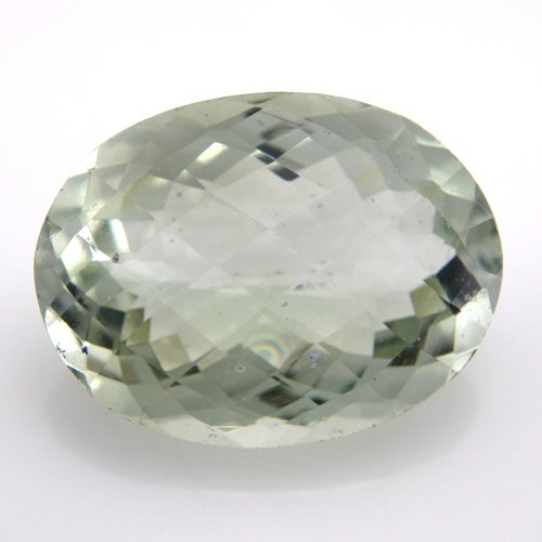 Natural Green Amethyst Loose  Oval Cut 8.45cts 16*12mm SI Grade