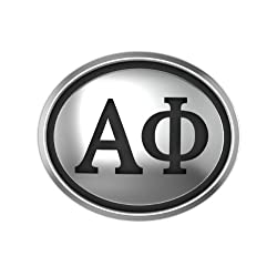 Alpha Phi Oval Sorority Bead Fits Most European Style Bracelets Including Chamilia Biagi Zable Troll and More. High Quality Bead in Stock for Immediate Shipping