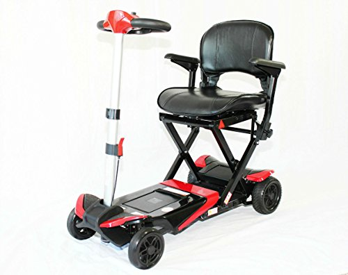 Transformer Electric Folding Mobility Scooter (Red)