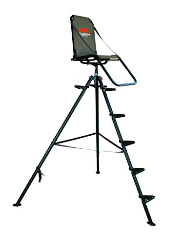 Treestand 10ft Tripod Adjustable Sturdy Light Comfort
