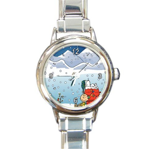 A Charlie Brown Christmas Custom Design Italian Charm Watch Limited Edition#1 (Custom Charms compare prices)