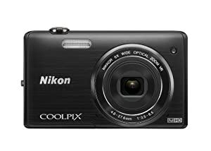 Nikon COOLPIX S5200 16 MP Digital Camera with Built-In Wi-Fi (Black)