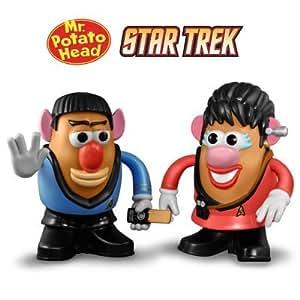 Star Trek Mr. Spock & Lt. Uhura MRS Mr Potato Head