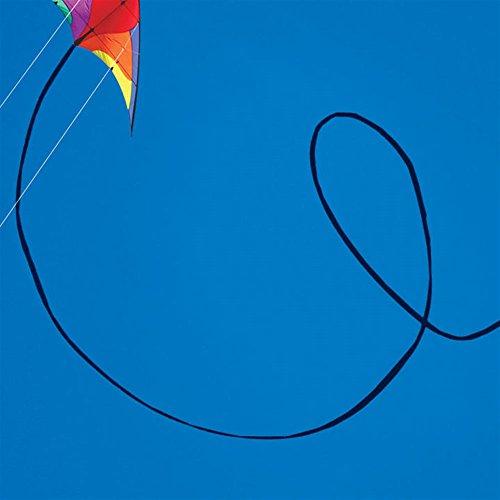 50-ft. Black Polyethelene Tubular Stunt Kite Tail - 1