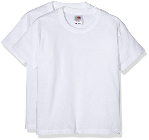 fruit-of-the-loom-6103323-camiseta-para-ninos-lot-de-2-color-blanco-14-15-anos-164-cm