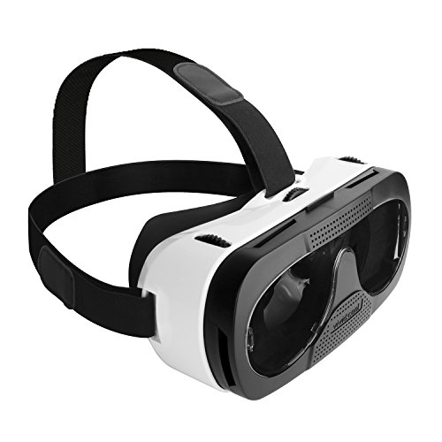 SoundSOUL(サウンドソウル) 【メーカー直販/1年保証付】3D メガネ VRヘッドセット スマホ対応シアターゴーグル 焦点距離調整可能 ヘッドバンド付き 3D映像/ゲーム/映画鑑賞 G3