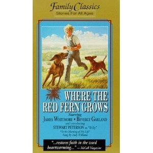 Where the Red Fern Grows VHS Tape 095163910068
