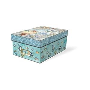 ... : Punch Studio Seascape Decorative Photo Storage Box: Home & Kitchen: www.amazon.com/Punch-Studio-Seascape-Decorative-Storage/dp/B00BCQSDC8