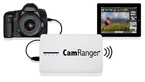 CamRanger Remote Canon & Nikon DSLR Camera Controller, Wireless Camera Control from iPad, iPhone, iPod Touch, Android, Mac or Windows Computer